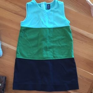 Tri-colored, Gap dress, 4T